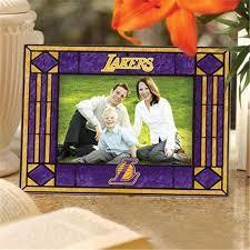 LA Lakers Art Glass Picture Frame