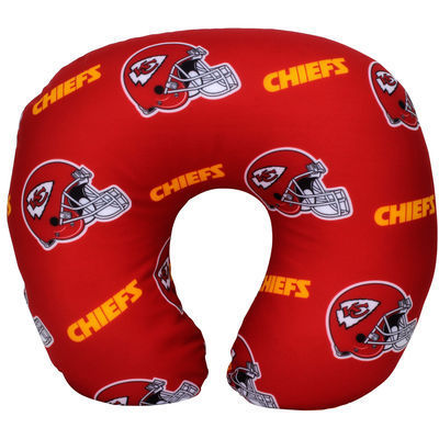 Men's Kansas City Chiefs The Northwest Company Beaded Neck Pillow