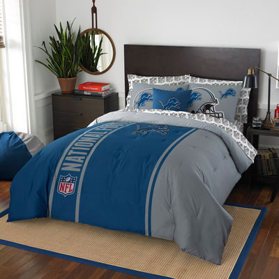 Detroit Lions The Northwest Company Soft & Cozy 7-Piece Full Bed in a Bag Set