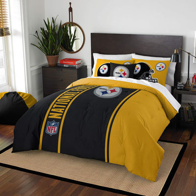 Pittsburgh Steelers The Northwest Company Soft & Cozy 3-Piece Full Bed Set