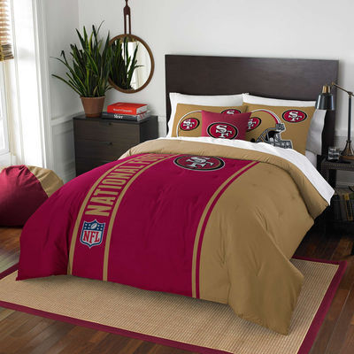 San Francisco 49ers The Northwest Company Soft & Cozy 3-Piece Full Bed Set
