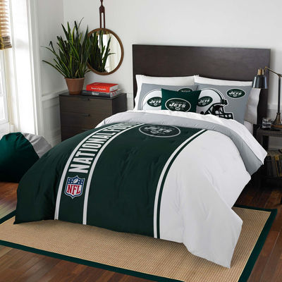 New York Jets The Northwest Company Soft & Cozy 3-Piece Full Bed Set