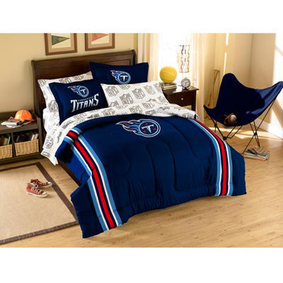 Tennessee Titans 7-Piece Full Size Bedding Set