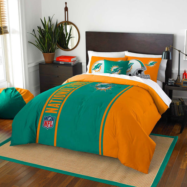 Miami Dolphins The Northwest Company, Miami Dolphins Bedding Sets