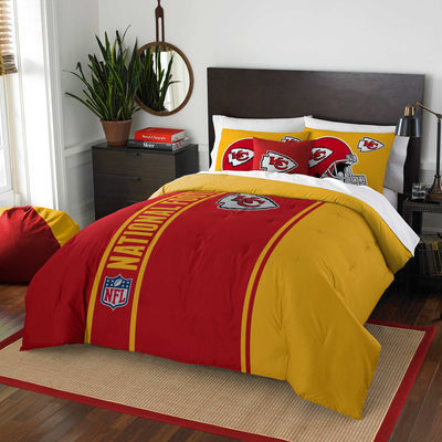 Kansas City Chiefs The Northwest Company Soft & Cozy 3-Piece Full Bed Set