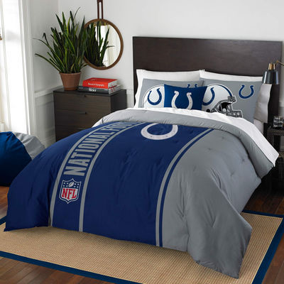 Indianapolis Colts The Northwest Company Soft & Cozy 3-Piece Full Bed Set
