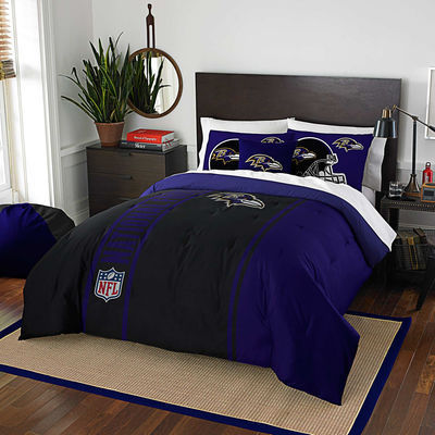 Baltimore Ravens The Northwest Company Soft & Cozy 3-Piece Full Bed Set