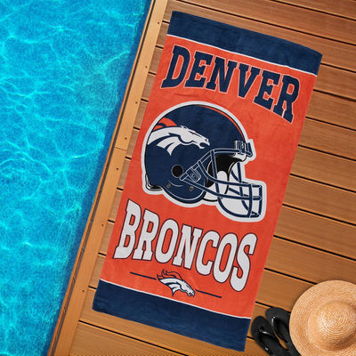 Denver Broncos WinCraft Beach Towel