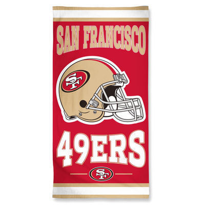 San Francisco 49ers WinCraft Beach Towel