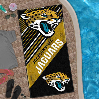 "Jacksonville Jaguars The Northwest Company 28"" X 58"" Beach Towel"