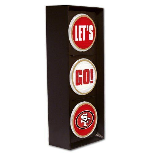 San Francisco 49ers Let's Go Light
