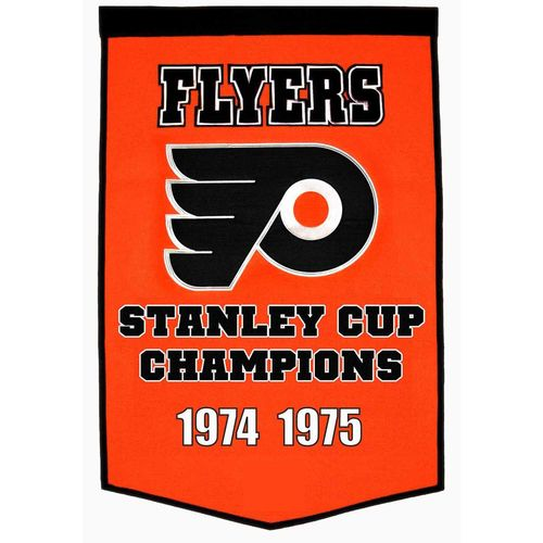 "Philadelphia Flyers Wool 24"" x 36"" Dynasty Banner"