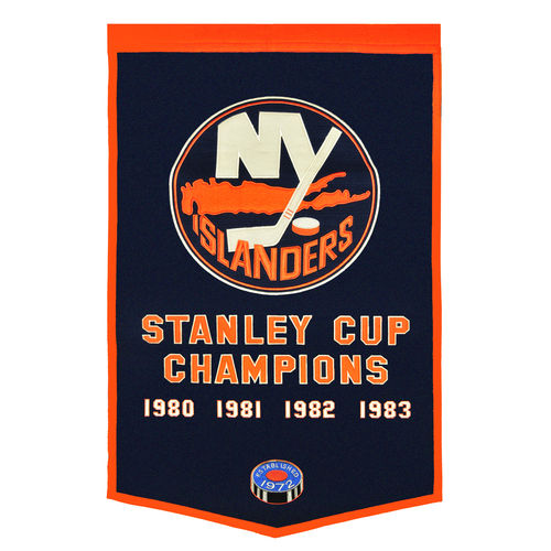 "New York Islanders Wool 24"" x 36"" Dynasty Banner"