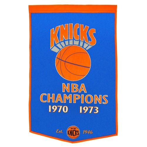 "New York Knicks Wool 24"" x 36"" Dynasty Banner"