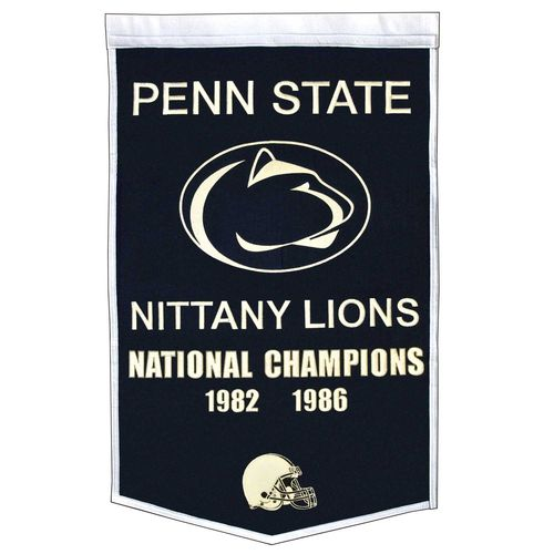 "Penn State Nittany Lions Wool 24"" x 36"" Dynasty Banner"