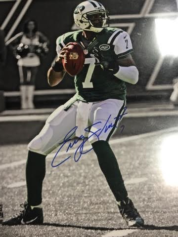 GENO SMITH JETS 16X20 AUTOGRAPHED WITH COA