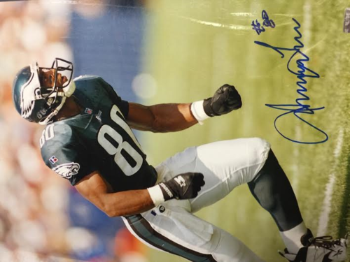 IRVING FRIAR EAGLES 16X20 AUTOGRAPHED WITH COA
