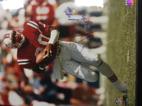 IRVING FRIAR PATRIOTS 16X20 AUTOGRAPHED WITH COA