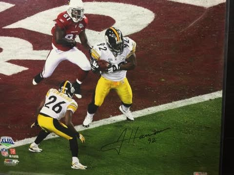 JAMES HARRISON STEELERS 16X20 AUTOGRAPHED WITH COA