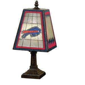 Buffalo Bills Art Glass Lamp