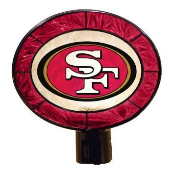 San Francisco 49ers Art Glass Nightlight
