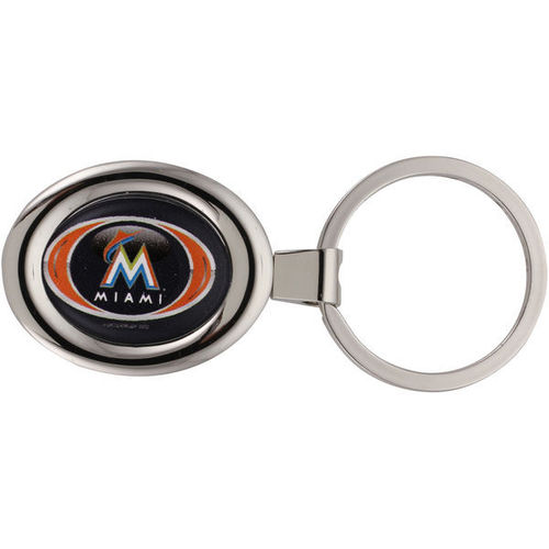 Miami Marlins Deluxe Key Ring