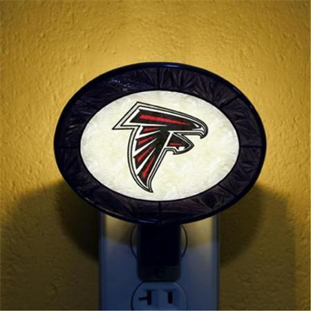 Atlanta Falcons Art Glass Nightlight