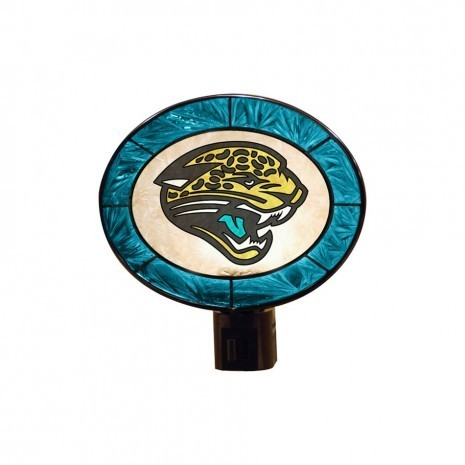 Jacksonville Jaguars Art Glass Nightlight