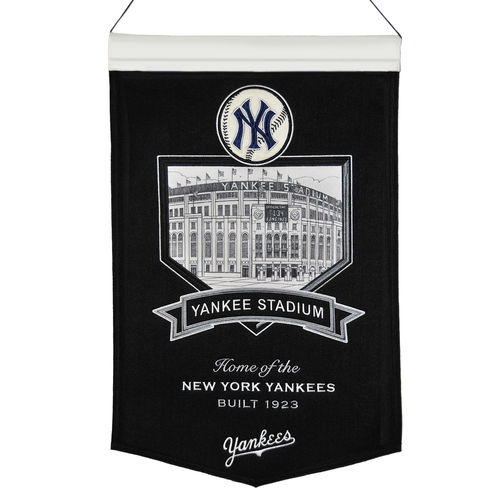 "New York Yankees Yankee Stadium Wool 15"" x 20"" Commemorative Banner"