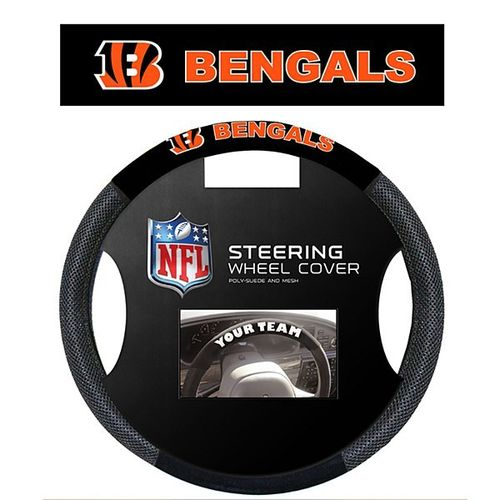 Cincinatti Bengals Steering Wheel Cover
