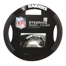 Oakland Raiders Steering Wheel Cover