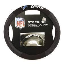Detroit Lions Steering Wheel Cover
