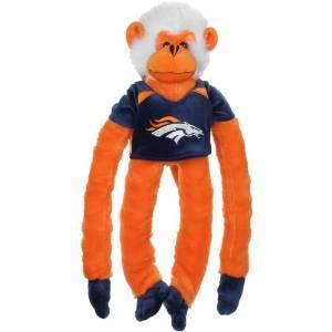 Denver Broncos Plush Monkey