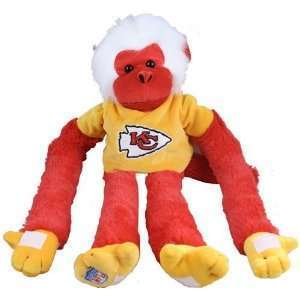 Kansas City Chiefs Plush Monkey
