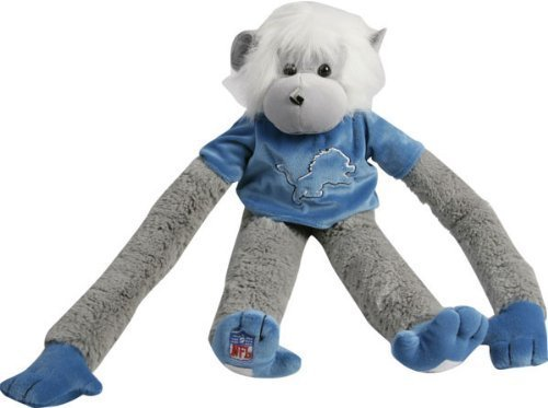 Detroit Lions Plush Monkey