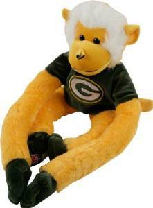 Green Bay Packers Plush Monkey