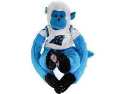 Carolina Panthers Plush Monkey
