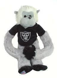 Oakland Raiders Plush Monkey