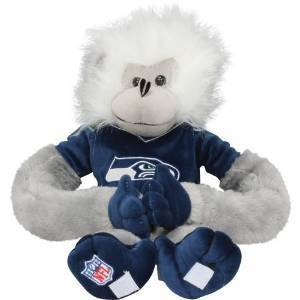 Seattle Seahawks Plush Monkey