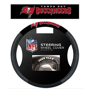 Tampa Bay Buccaneers Steering Wheel Cover