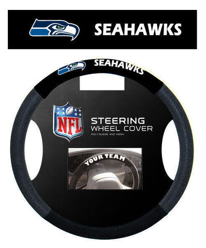 Seattle Seahawks Steering Wheel Cover