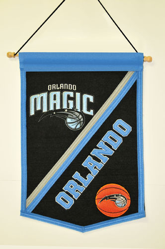"Orlando Magic Wool 18"" x 12"" Traditions Banner"