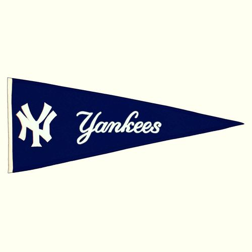 "New York Yankees Wool 32"" x 13"" Traditions Pennant"