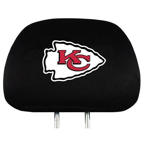 Kansas City Chiefs Head Rest Cover