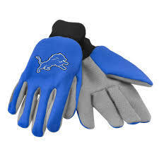 Detroit Lions Utility Gloves