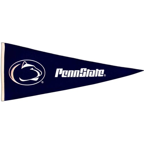 "Penn State Nittany Lions Wool 32"" x 13"" Traditions Pennant"