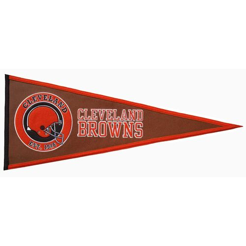 "Cleveland Browns 32"" X 13"" Pigskin Pennant"