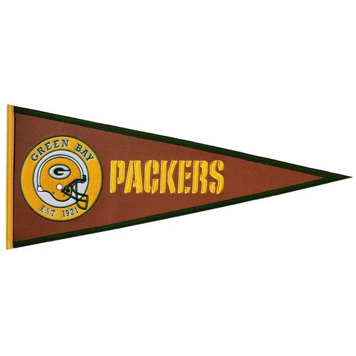 "Green Bay Packers 32"" X 13"" Pigskin Pennant"