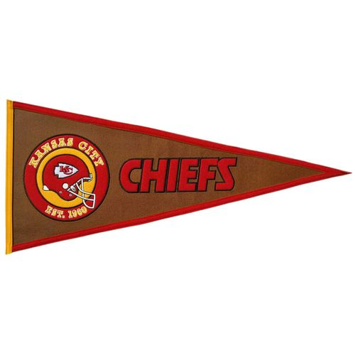 "Kansas City Chiefs 32"" X 13"" Pigskin Pennant"