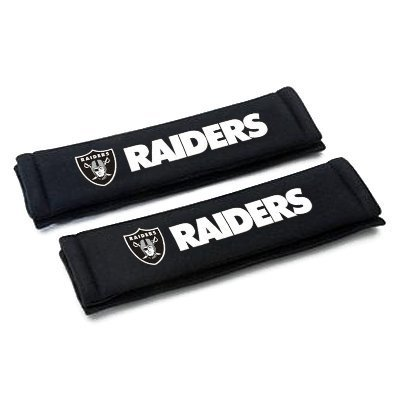 Oakland Raiders Seat belt shoulder pads